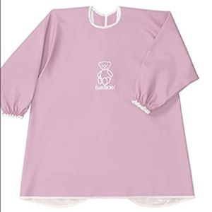 COPY - COPY - BabyBjorn Long Sleeve Bib Pink